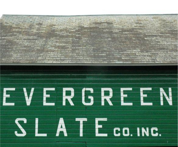 evergreen barn