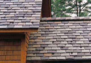 vermont slate roof